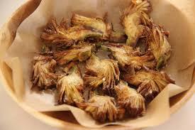 comment cuisiner des artichauts artichaut frit mangez moi fr