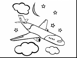 Incredible Printable Airplane Coloring Pages With
