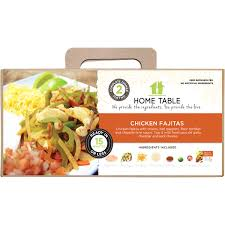 Meijer Home Wall Decor by Home Table Chicken Fajita Meal Kit 2 Servings Meijer Com