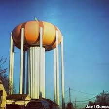 Pumpkin Festival Circleville Ohio 2 by Circleville Oh Pumpkin Water Tower