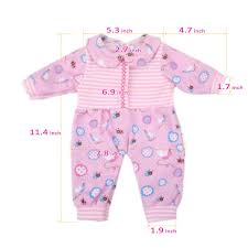 Amazoncom Bitty Baby Doll Clothes AOFUL Cute Lovely Jumpsuit