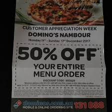 Domino's Nambour Customer QLD Appreciation Week - 11 Dec To ... Coupon Code Fba02 Free Half Dominos Pizza Malaysia Buy 1 Promotion Codes 5 Code Promo Dominos Rennes Coupons Freebies Over 1000 Online And Printable Uk Gallery Grill Coupons Panasonic Home Cinema Deals Uk For Carry Out One Get Free Coupon Nz Candleberry Co Hungry Jacks Vouchers For The Love Of To Offer Rewards Points Little Deal Vouchers Worth 100 At 50 Cents Off Gatorade Momma Uncommon Goods Code November 2018 Major Series