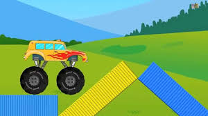 100 Play Monster Truck Games Stunts Page 2 Kids YouTube