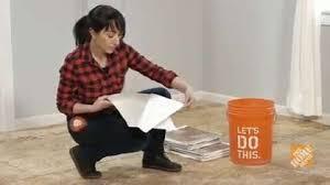 Vinyl Floor Seam Sealer Walmart by How To Install Self Stick Vinyl Floor Tile Flooring How To