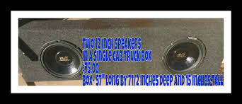 Best Speakers Box For Single Cab Truck With Speakers For Sale In ... Amazoncom 12 Car Audio Speaker Subwoofer 1600 Watt High Power Custom Center Console Sub Box In Regular Cab Truck Youtube 2018 Silverado Texas Edition Package Pricing Features Box I Made To Fit The Center Console Of A 2nd Gen Toyota Cheap Homemade 4 Steps Kicker Pf150c11 Ford F150 Crew 1112 Powered 200w 1979 Chevrolet C10 Upgrades Hot Rod Network Chevy New Building An Mdf And Fiberglass Enclosure How Its Done Subwoofers Jbl Barn Door Tailgate Full Speakers 3d Tv That Rises Dodge Ram 1500 22008 Factory Replacement Harmony