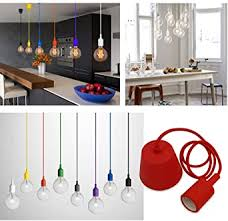 princeway farbe silikon decke hängende beleuchtung befestigung europäische moderne ikea stil diy einfache installation für beleuchtung für zuhause