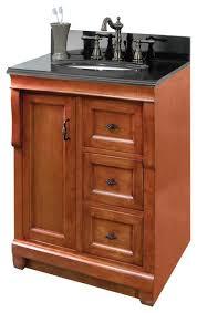 18 vanity cabinet only in warm cinnamon rustic bathroom vanities