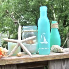 Sea Glass Bathroom Accessories by 365 Designs Turning Jars Into Beach Glass U0026 Other Modern Nautical