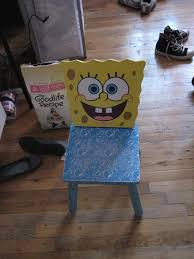 Spongebob Chair! | So, I Was Walking With My Roommate To Get ...