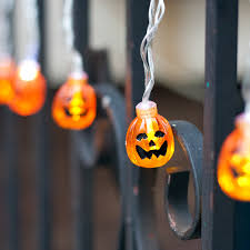 Halloween Battery Operated Taper Candles by Lights Com String Lights Battery String Lights Ghost And