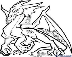 Fire Breathing Dragon Coloring Page Pages Awesome