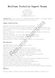 Medical Scheduler Resume Sample Surgery New Mainframe Production Support