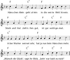 hänschen klein kinder lied kinderlieder kindergarten lieder