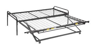Mantua Bed Frames by Mantua Link Spring Pop Up Trundle Bed Home Mattresses