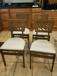Rare Vintage 1940's Set Of 4 Stakmore Folding Chairs-Carved ... 1940s Chinoiserie Mahjong Card Table Set 5 Pieces At 1stdibs Kitchen Design Lovetoknow Wooden Poker Chairs Antique Rare Vintage Set Of 4 Stakmore Folding Chairscarved Whiskey Barrel Back Swivel Base Exceptional Brassinlaid Or Gaming In The Neoclassic Manner Vintage 1940s Club Chair Expanding Tables Grow To Suit Needs Trader Why Phillipe Starcks Ghost Chair Is Here For Eternity Pair Armchairs Easy Attributed Jean Royere