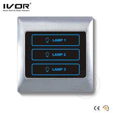 ivor wall switch with led indicator light led light
