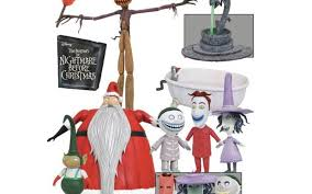 Nightmare Before Christmas Bath Toy Set by Diamond Select Toys In Stores This Week U2013 The Nightmare Before