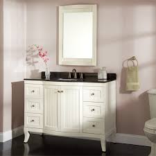 Single Sink Bathroom Vanity Top by Bathroom Decoration Using Soft Light Pink Bathroom Wall Paint