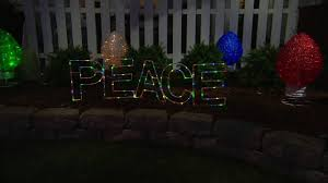 Qvc Pre Lit Christmas Trees by Kringle Express Indoor Outdoor Illuminated Holiday Messages On Qvc