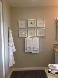 Bathroom Wall Decor Ideas Pinterest by Bathroom Beach Decor Framing Ideas Model Home Inspirations