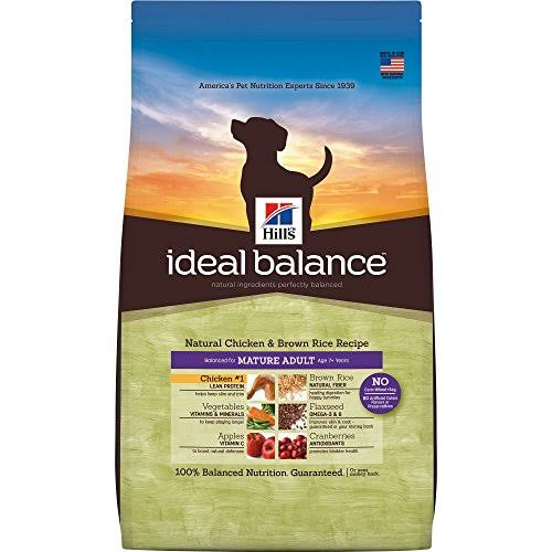 Hill's Ideal Balance Dry Dog Food - 15lb, Natural Chicken & Brown Rice Recipe
