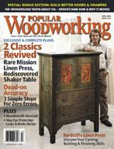 byrdcliffe linen press popular woodworking magazine