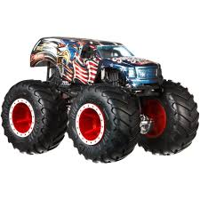 100 Bigfoot Monster Truck Toys Stars Stripes Hot Wheels S Wiki FANDOM Powered
