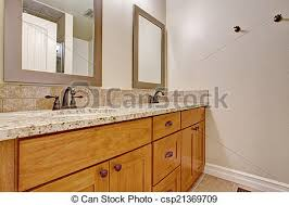 badezimmer hölzerne spitze kabinett granit eitelkeit