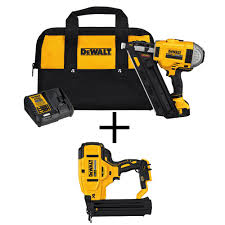 18 Gauge Floor Nailer Home Depot by Dewalt 20 Volt Max Xr Lithium Ion Cordless Brushless 2 Speed 33