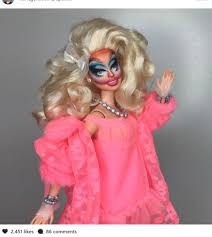 This Artist Turned Barbie Dolls Into Drag Queens From RuPauls Drag