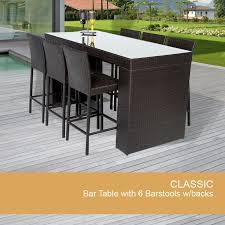 Portable Patio Bar Ideas by Outdoor Bar Table Design Home Decor U0026 Interior Exterior