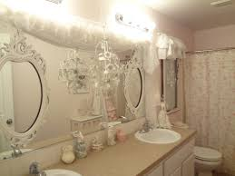 Shabby Chic White Bathroom Vanity by Bathroom Wallabinet Shabbyhic Bar Benevola Amusing Vanity Light