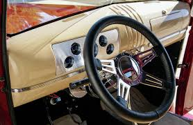 1946-chevrolet-fire-truck-interior-ididit-28-inch-steering-wheel ... Car Dashboard Ui Collection Denys Nevozhai Medium Ui And Dakota Digital Dash Panel Pics Ls1tech Camaro Febird C10 C10s Pinterest 671972 Chevy Gauge Cluster Vhx Instruments Dakota Digital Gauge Cluster In 1985 Ford 73 Idi Youtube Holley Efi 553106 Dash Lcd Lighted Clock Auto Truck Date Time Classic Saves 1960 Interior From A Butchered 1972 Chevrolet Guys Third Generation Hot Rod Network 1954 3100 El Don Lowrider
