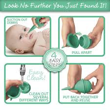 boogiebulb baby nasal aspirator and booger sucker