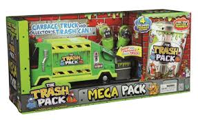 Amazon.com: The Trash Pack Mega Pack With Garbage Truck And ...