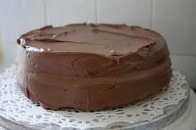 Rich Vanilla Cake with Chocolate Fudge Icing Erren s Kitchen