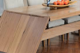 Wayne Waterfall Hardwood Extension Table Home Breadcrumbs Arrow Solid Timber Furniture Melbourne