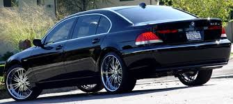 BMW 745 Wheels