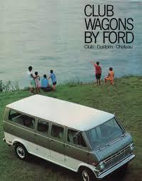1969 Club Van Ford Truck Sales Brochure | VAN-tasia!! | Pinterest ...