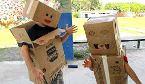Cardboard Robots In Costa Rica