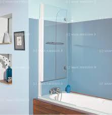 si e pivotant de baignoire pare baignoire 2 panneaux pivotant et relevable 110x140cm aqualift2