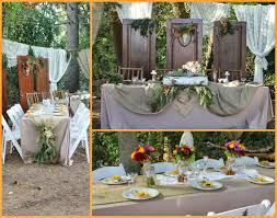 Country Wedding Reception Table Ideas