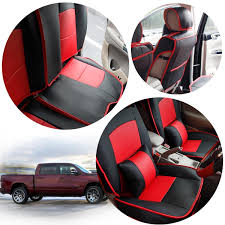 100 Pickup Truck Seat Covers Full Set Car Cover For Dodge 20132017 Ram 1500 2500 3500