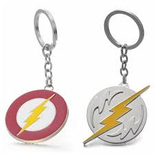 THE FLASH Lightning Bolt Justice League Barry Alle Metal Keychain