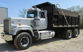 100 Super Dump Trucks For Sale 1989 Mack RW753 Liner Dump Truck Item K5023 SOLD