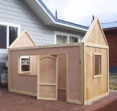 Cheap Shed Roof Ideas by Ana White Playhouse Roof Diy Projects