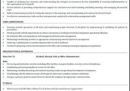 Executive Assistant Resume Samples 2016 From Administrative Examples Download Fice