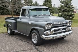 1958 GMC 1/2 Ton Pickup   My Classic Garage Chopped 1950 Gmc 3100 Pickup Truck Ratrod Project Project Cars Gmc Youtube Dump Truck For Sale On Classiccarscom Nc Pontiac Oakland Club Intertional 1950s Chevy For Old Photos Collection Classic Sale 1966 Chev Long Fleet Pickup 1157px Image 5 Classics Autotrader Customer Gallery 1947 To 1955 1948 Quick 5559 Chevrolet Task Force Id Guide 11