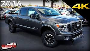 2016 Nissan TITAN XD Pro-4X - Ultimate In-Depth Look In 4K - YouTube 2018 Used Nissan Titan Xd 4x4 Diesel Crew Cab Sl At Saw Mill Auto 2016 Review Notquite Hd Pickup Makes Cannonball New Entry Into The Midsize Truck Field Cars 2017 Reviews And Rating Motor Trend Canada Debuts Custom Offroready Pro4x The Drive Warrior Concept Asks Bro Do You Even Truck To Get A Gasoline V8 With 390 Features Is Cheapest Cummins 4wd At Momentum Pro 10r Cold Air Intake System Afe Power Fullsize Pickup With Engine Usa In Lufkin Tx Loving