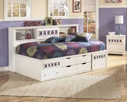 Ashley Bittersweet Bedroom Set by Zayley Twin Full Bookcase Headboard B131 85 Headboard